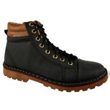 Coturno-Cazzac-Shoelaces-Preto-Marrom-Masculino