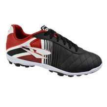 Chuteira-Society-Menino-Dray-X1-Black-Red