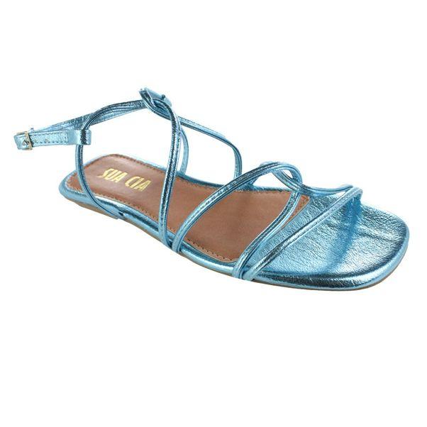 Sandalia-Rasteira-Sua-Cia-Metal-Soft-Azul