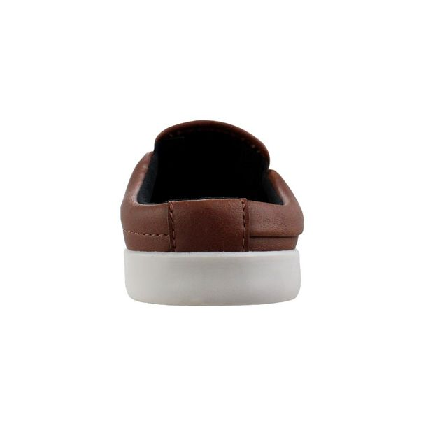 Mule-Slip-On-Cazzac-Simple-Marrom-Masculino