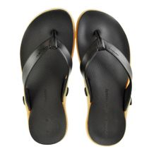 Chinelo-Kenner-HDR-Preto-Bege-Masculino