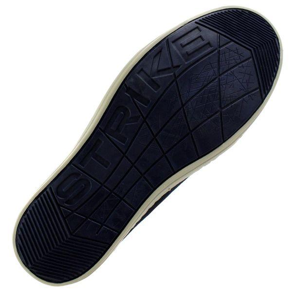 Slip-On-Cazzac-Jeans-Marinho-Marrom