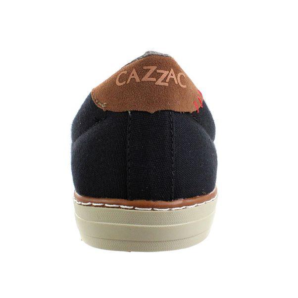 Slip-On-Cazzac-Jeans-Preto-Marrom