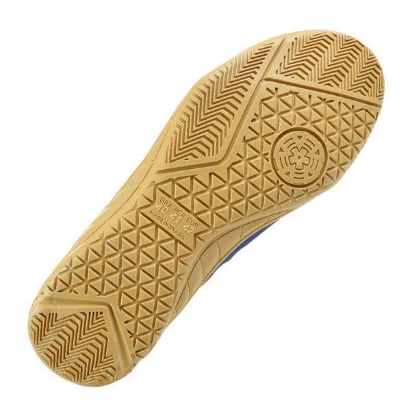 Tenis-Futsal-Kappa-Shoelace-Marinho-Dourado-