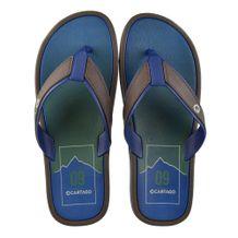 Chinelo-Cartago-Maiorca-II-Marrom-Azul-Masculino