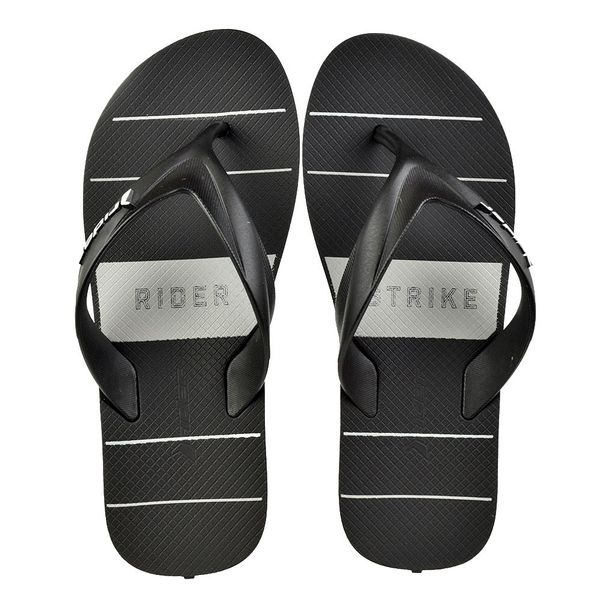 Chinelo-Menino-Rider-Strike-Graph-Black-Grey