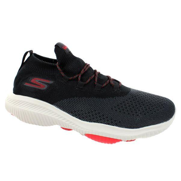 Tenis-Skechers-Performance-Preto-Vermelho