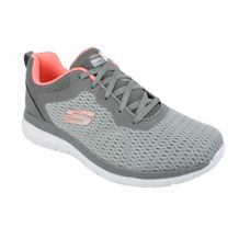 Tenis-Skechers-Bountiful-Quick-Path-Cinza-Prata