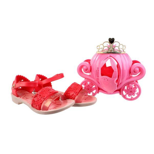 Sandalia-Menina-Princesas-Fairytal-Vermelho