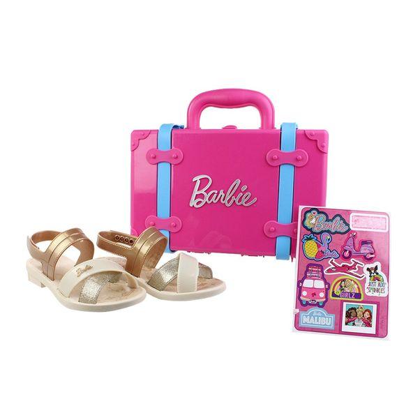 Sandalia-Menina-Barbie-Maleta-Bege-Dourado-
