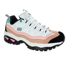 Tenis-Chunky-Skechers-Sunny-Waves-Branco-Rosa