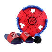 Chinelo-Slide-Menino-Homem-Aranha-Blue-Red