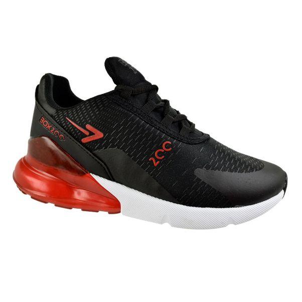 Tenis-Box200-Sportsman-Preto-Vermelho-Masculino
