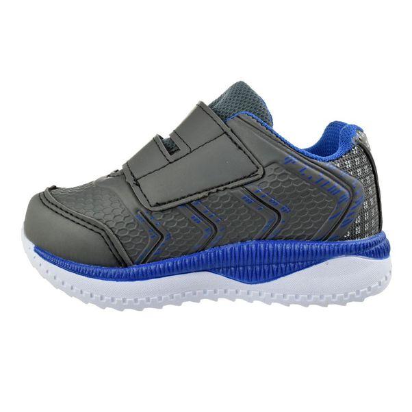 Tenis-Menino-Box200-Baby-Cinza-Azul