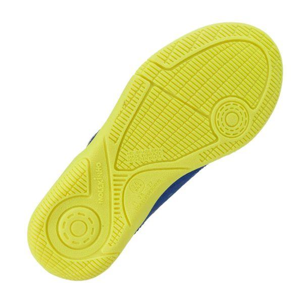 Tenis-Futsal-Menino-Molekinho-Colmeia-Azul-Branco