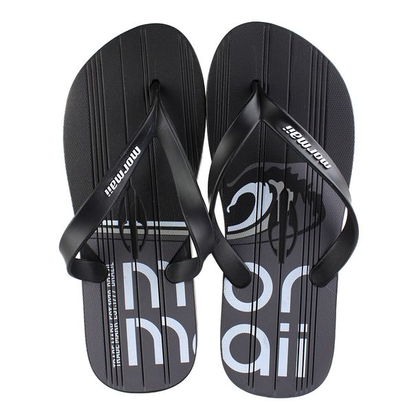 Chinelo-Mormaii-Tropical-Preto-Cinza