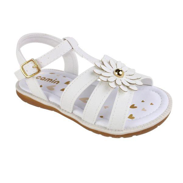 Sandalia-Infantil-Camin-Flower-Branco-
