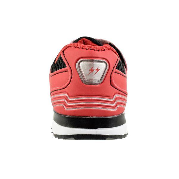Tenis-Menino-Mizzuminho-Velcro-Red-Grey