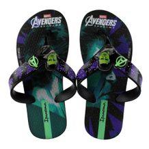 Chinelo-Infantil-Grendene-Avengers-Black-Green