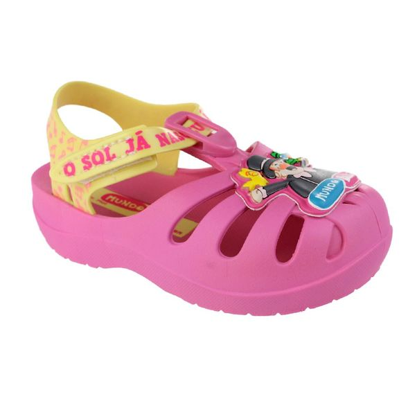 Sandalia-Infantil-Grendene-Mundo-Bita-Fazendinha-Pink-Yellow