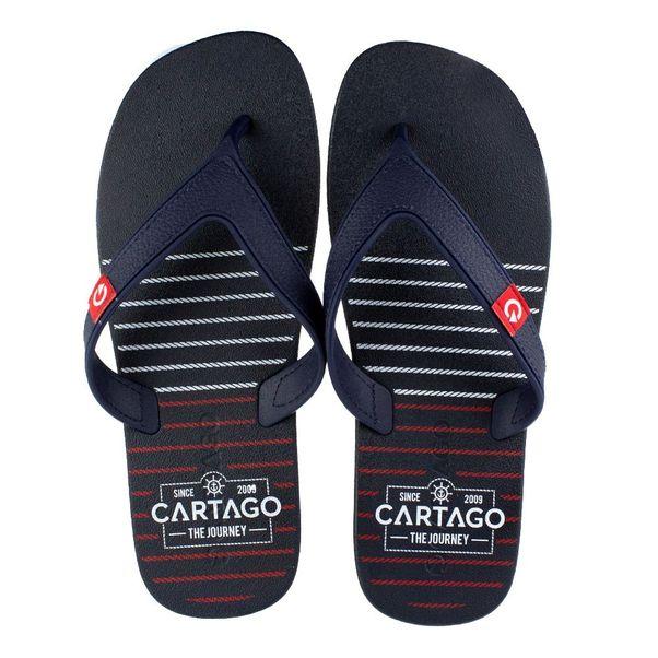 Chinelo-Cartago-Dakar-Preto-Cinza-Masculino