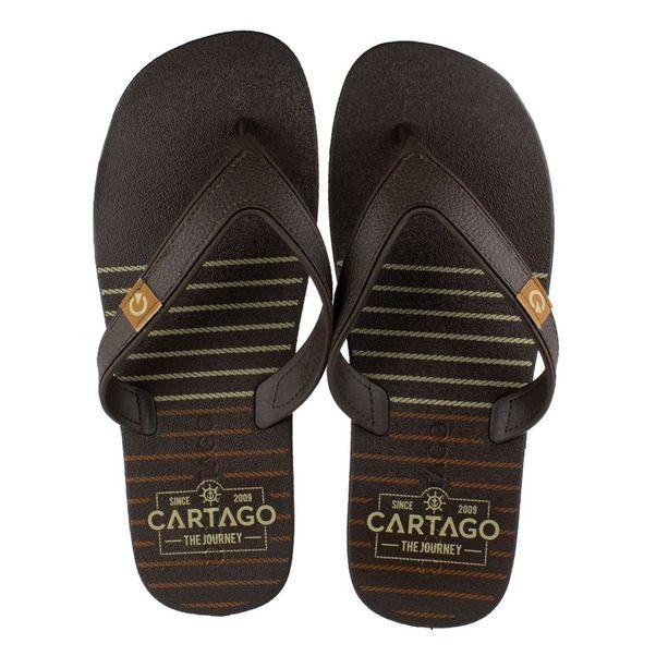 Chinelo-Cartago-Dakar-Marrom-Masculino