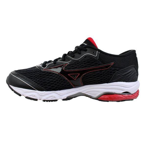 Tenis-Mizuno-Wave-Mirai-2-Preto-Vermelho-Masculino