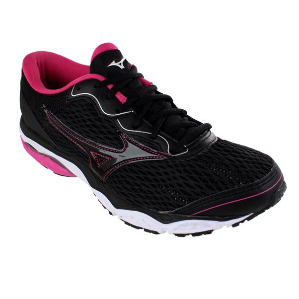 Tenis-Mizuno-Wave-Mirai-2-Black-Pink