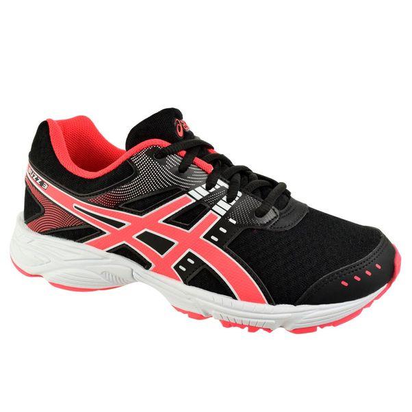 Tenis-Menina-Asics-Buzz-3-Preto-Rosa