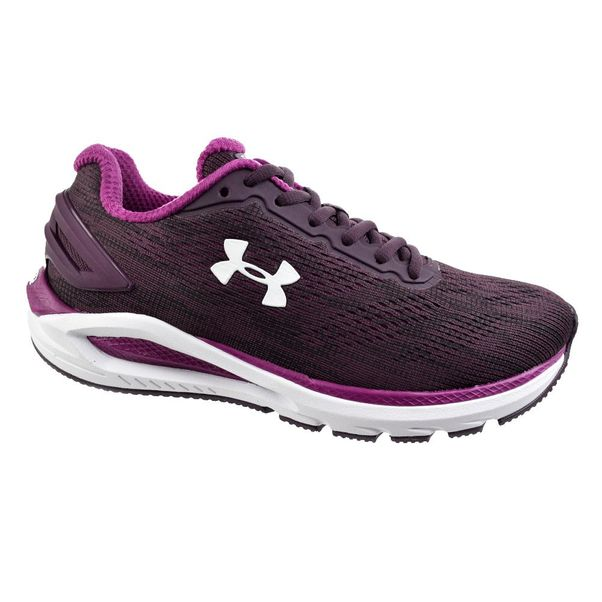 Tenis-Under-Armour-Charge-Carbon-Roxo-Branco-