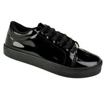 Tenis-Casual-Done-Head-Everyday-Varnish-Preto