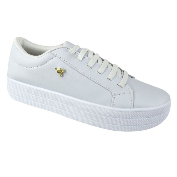 Tenis-Casual-Flatform-Done-Head-Everyday-White