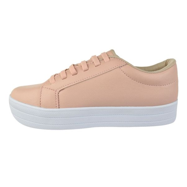 Tenis-Casual-Flatform-Done-Head-Everyday-Pink
