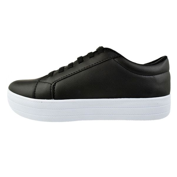 Tenis-Casual-Flatform-Done-Head-Everyday-Black