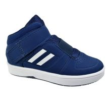 Tenis-Casual-Cano-Alto-Menino-Done-Head-Navy-White
