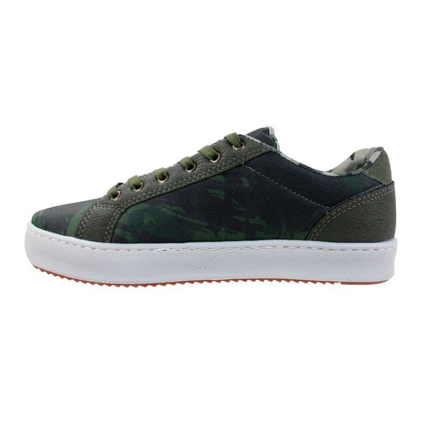 Tenis-Casual-Done-Head-Camouflage-Verde