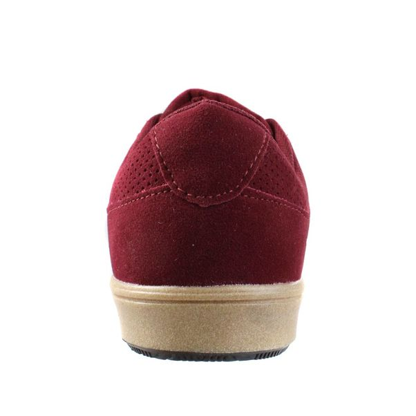 Tenis-Casual-Menino-Done-Head-Suede-Wine