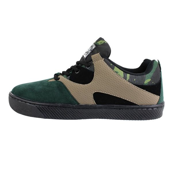 Tenis-Casual-Done-Head-Military-Verde-Preto