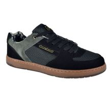 Tenis-Casual-Done-Head-Camouflaged-Preto-Cinza