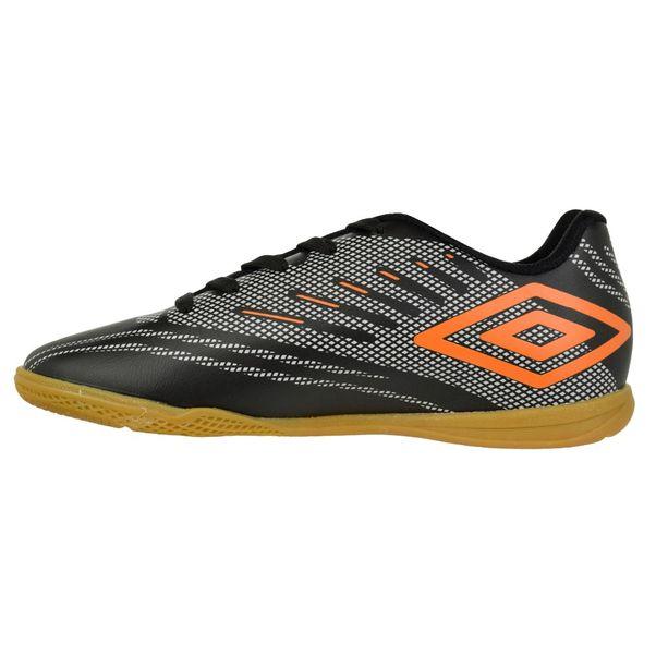 Tenis-Futsal-Menino-Umbro-Speed-IV-Preto-Cinza