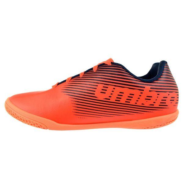 Tenis-Futsal-Menino-Umbro-F5-Light-Laranja-Marinho