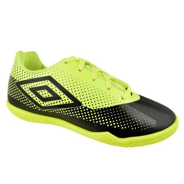 Tenis-Futsal-Menino-Umbro-Icon-Preto-Verde