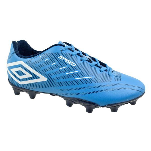 Chuteira-Campo-Umbro-Speed-IV-Azul-Branco
