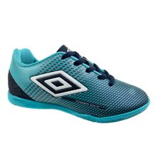 Tenis-Futsal-Menino-Umbro-Speed-Sonic-Azul-Branco