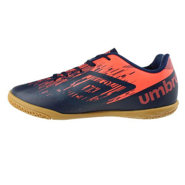 Tenis-Futsal-Infantil-Umbro-Acid-II-JR-Navy-Orange