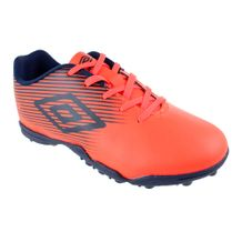 Chuteira-Society-Infantil-Umbro-F5-Light-JR-Orange-Navy
