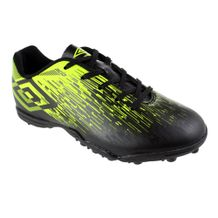 Chuteira-Society-Infantil-Umbro-Acid-II-JR-Black-Green