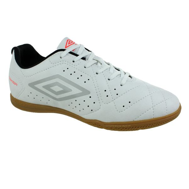 Tenis-Futsal-Umbro-Strinker-6-Branco-Prata-