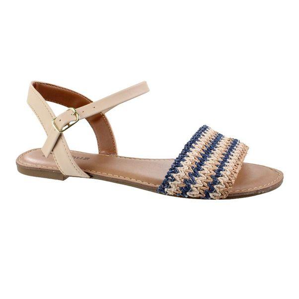Sandalia-Rasteira-M-Shuz-Trama-Azul-Bege