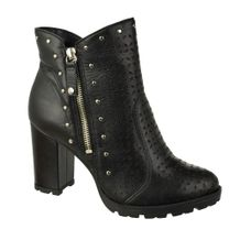 Ankle-Boot-Tanara-Modern-Drawing-Preto-Feminino